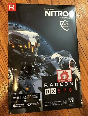 BRAND NEW NEVER Used SAPPHIRE PULSE RADEON RX 580 FOR GAMING