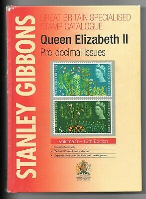 Stanley Gibbons - QE II pre decimal specialised catalogue - 12th edition