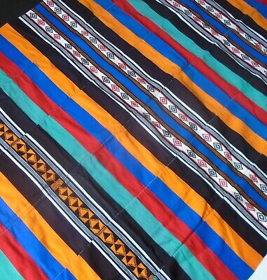 DJERMA HAUSA Hand Loomed AFRICAN Wall Hanging / Textile...