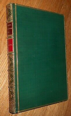 1852 Signed Fine Binding W H Bartlett Footsteps of Our Lord & Apostles in Syria