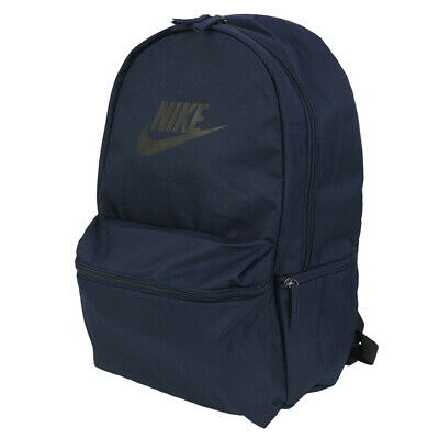 0b249e779fbf5 Nike Heritage Backpack Sports Bags School Outdoor Travel Casual Navy BA5749- 451