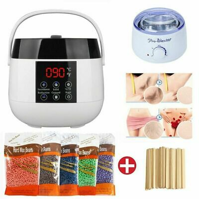 Wax Pot Pearl Wax Beans Heater Warmer Machine Kit Set For Painless Hair Removal