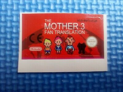 Label / Sticker For Nintendo Game Boy Advance Mother 3 Gameboy (Not Game) Gba