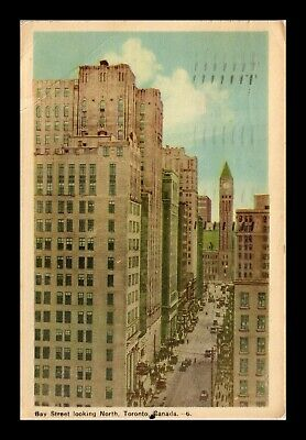 Dr Jim Stamps Bay Street Toronto Canada Postcard 1947