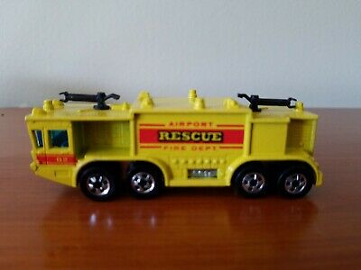 Vintage Hot Wheels 1979 Airport Rescue Fire Department Truck