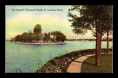 Dr Jim Stamps Isle Imperial Thousand Islands St Lawrence River Postcard Canada