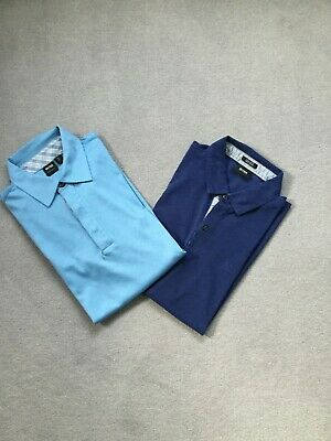Two  Fantastic Hugo Boss Polo Shirts  Size L  Regular Fit Immaculate Condition