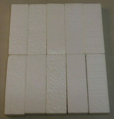 LOT of 10 Official Nintendo NES Game Box Foam Packaging Inserts (Styrofoam)