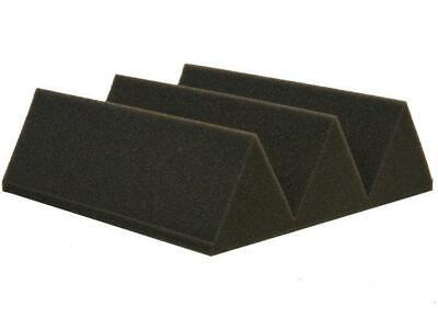 "Acoustic Foam 12 Pack Kit - Wedge 4"" 24"" x 24"" covers 48sq Ft - SoundProofing/Bl"