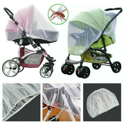 Baby Toddler Stroller Pushchair Pram Mosquito Fly Insect Net Mesh Buggy Cover
