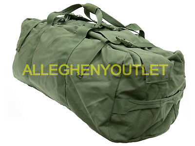 US Military IMPROVED DUFFEL BAG Tactical Foldable Deployment Duffle Luggage VGC