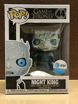 Funko Pop! Game of Thrones AT&T Exclusive Metallic Night King #44 w/ Protector