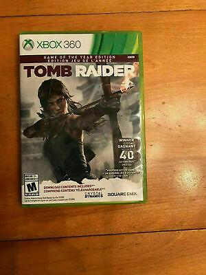 Tomb Raider Game Of The Year Edition  - Xbox 360 - Very Good