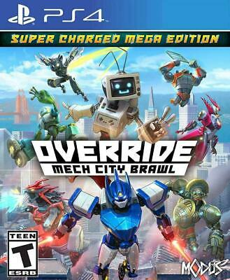 PlayStation 4 Override: Mech City Brawl - Super Charged Mega Edition