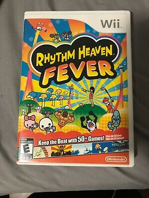 RHYTHM HEAVEN FEVER Nintendo Wii Software Demo Kit NFR Not For