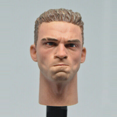 Angry WWII German Solider Head Sculpt Model 1/6 Fit 12'' Action Figure High-Q