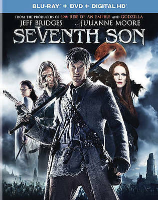 Seventh Son (Blu-ray Disc, 2015, 2-Disc Set) - NEW!!