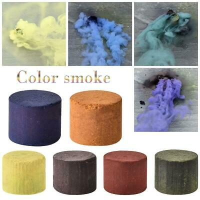 Magic Colorful Smoke Cake Round Bomb Effect Photography Video MV Aid Props Toys