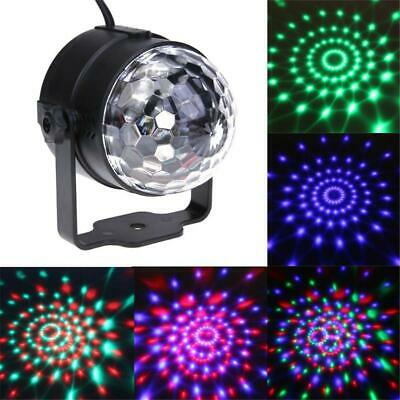 RGB LED Stage Light Effect Disco DJ Laser Lights Club Party Crystal Magic Ball