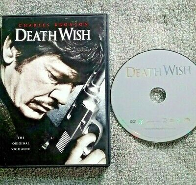 Death Wish DVD Movie Charles Bronson