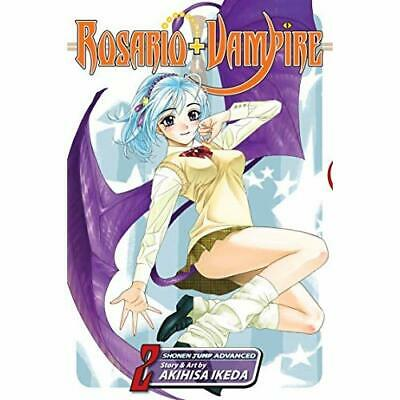 Rosario+Vampire: v. 2 (Rosario+vampire): v. 2 (Rosario+ - Paperback NEW Ikeda, A
