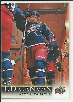 2018-19 Upper Deck Series1 UD Canvas C24 Artemi Panarin Columbus Blue Jackets