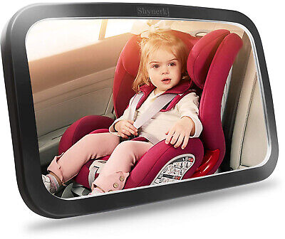 Baby Car Mirror Seat Back Safety Child Infant Rear Facing Kids Toddler Cover