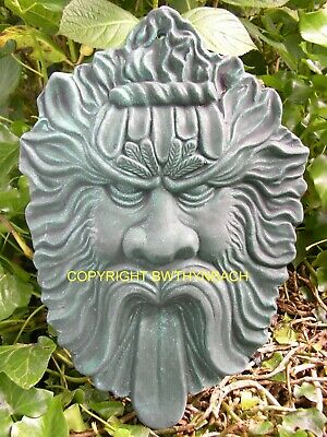 New Rubber Latex Moulds Mould Mold Pagan Wiccan Greenman Green Man Wall Plaque 9
