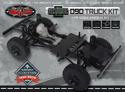 RC4WD Gelände II Truck Kit 1/10 Chassis Kit Z-K0060 RC Scale Crawler Bausatz