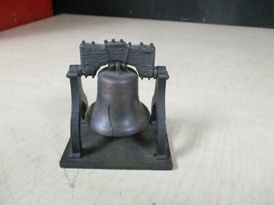 Bronze Patina LIBERTY BELL 1776 Replica PENNCRAFT Diecast Ringing Bell Accessory