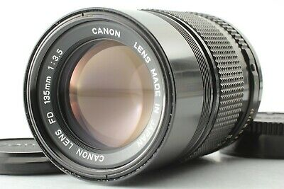[EXC++++] Canon New FD 135mm f/3.5 NFD MF Telephoto Lens From Japan