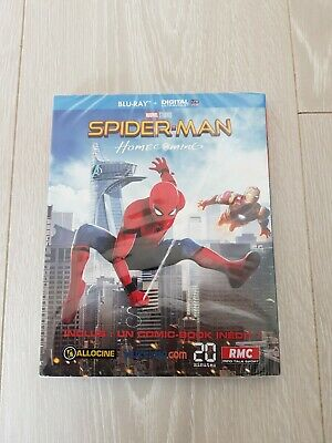 Blu-ray Spider-man Homecoming MARVEL NEUF SOUS BLISTER