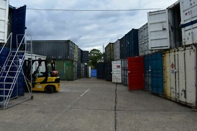 20ft Shipping Containers | HIRE | SE7 LONDON | Forklift Available, 24/7 Security