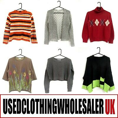 35 Women's Jumpers Sweaters Knitwear Tops Wholesale Clothing Fashion Joblot