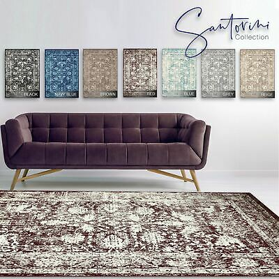 Large LIVING ROOM Rugs TRADITIONAL Lounge Area Carpet Persian FLORAL Pattern Mat