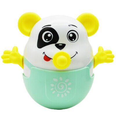 Kids Animal Tumbler Environmental Protect Fall Wisdom Toys Rattle Water Gifts CB