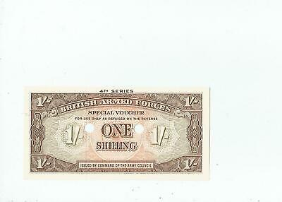 BAF  1  SHILLING  4th  SERIES  PUNCH  CANCELLED