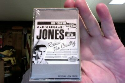 George Jones- Rockin' the Country- new/sealed cassette tape- rare?