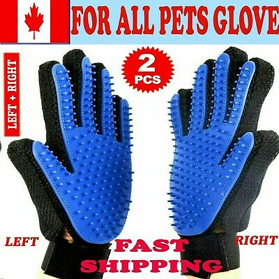 Pet Dog Grooming Glove Cat massage Gloves Touch Hair Cleaning Brush Dirt Remover