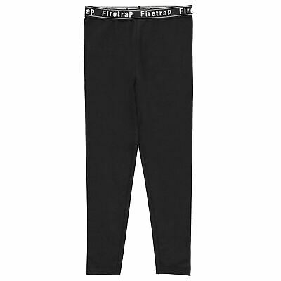 Firetrap Leggings Youngster Girls Pants Trousers Bottoms Elasticated Waist