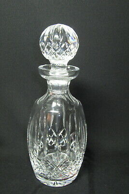 "LISMORE WATERFORD CUT IRSH CRYSTAL 10 5/8"" tall LIQUOR / WINE DECANTER"