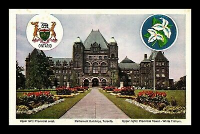 Dr Jim Stamps Parliament Buildings Toronto Postcard Canada