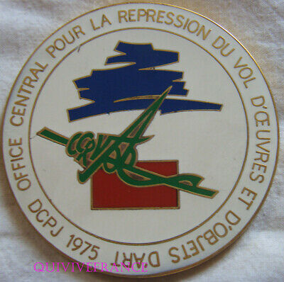 MED8690 - Médaille OFFICE CENTRAL REPRESSION VOL OEUVRES D'ART