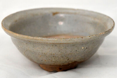 """Ancient Chinese Song Dynasty Celadon Glaze Bowl 5 6/8"""" X2 1/2"""""""