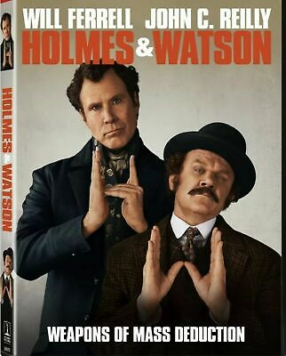 Holmes & Watson(New Sealed Dvd,2019 Release) Adventure,Comedy,Mystery,Ships Free