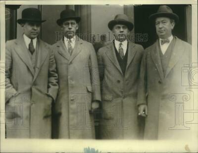 1927 Press Photo District lawyers for the Snyder-Gray murder trial - nef71312