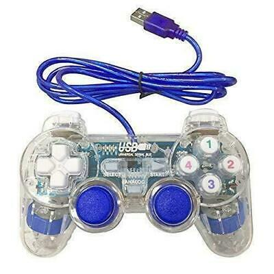 Poulep USB PC Wired Gamepad Game Controller Dual Vibration Shock for PC...