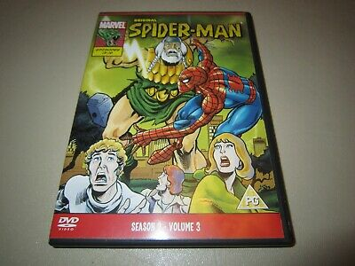Spider-Man - The Original Animated Series 2 - Vol.3 (DVD, 2010)