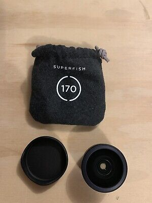 4 Moment Lenses And Carrying Case. Wide Angle, Telephoto, Super Fish, And Macro