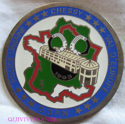 MED8687 - Médaille POLICE URBAINE CHESSY VAL D'EUROPE DDPN